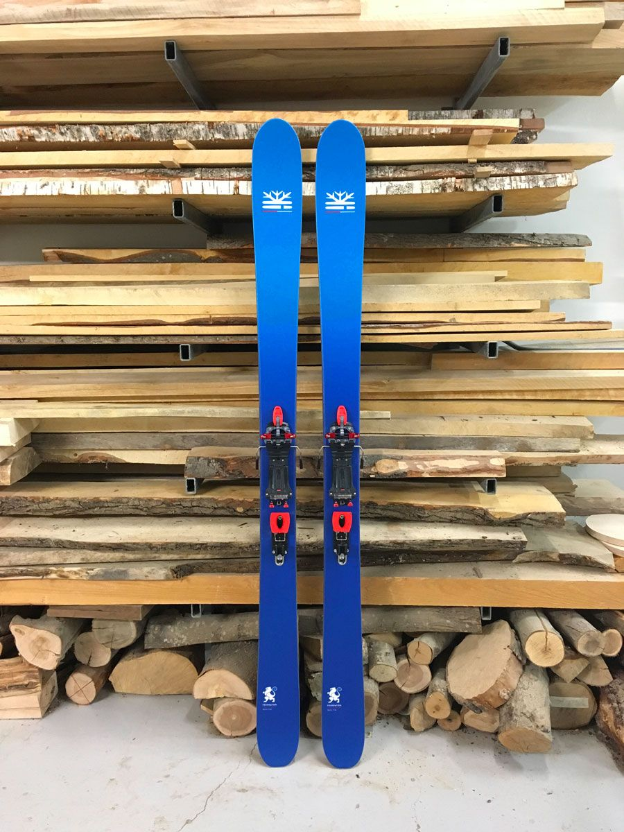 Telemark Skis Equiped With Meidjo 2 1 At Amped Test Center